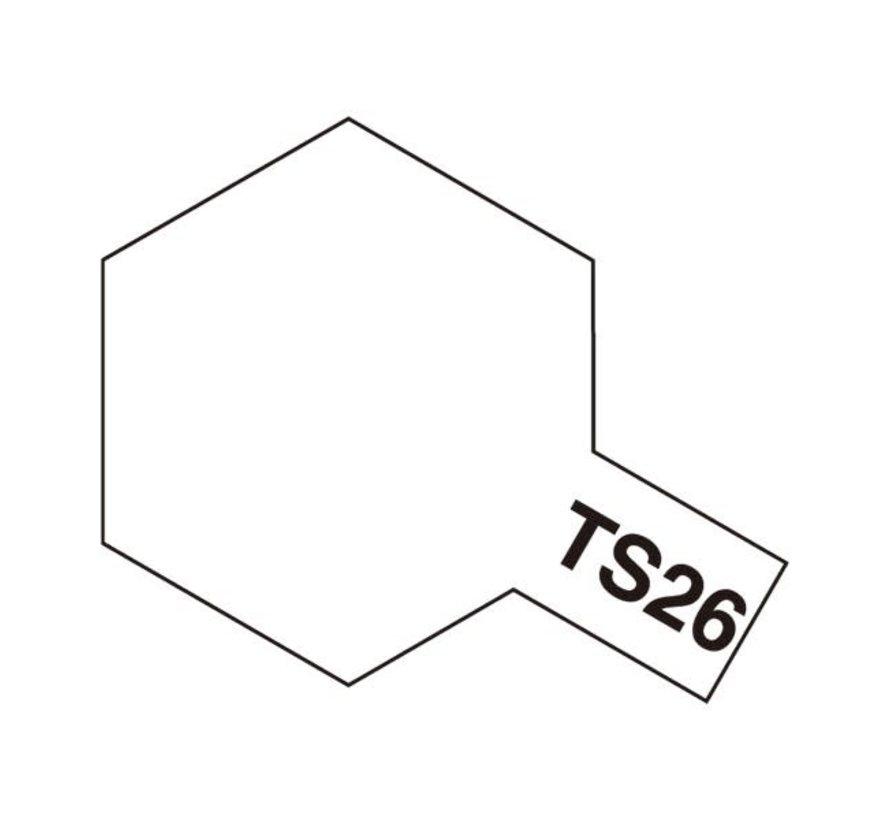 Tamiya : TS-26 PURE WHITE