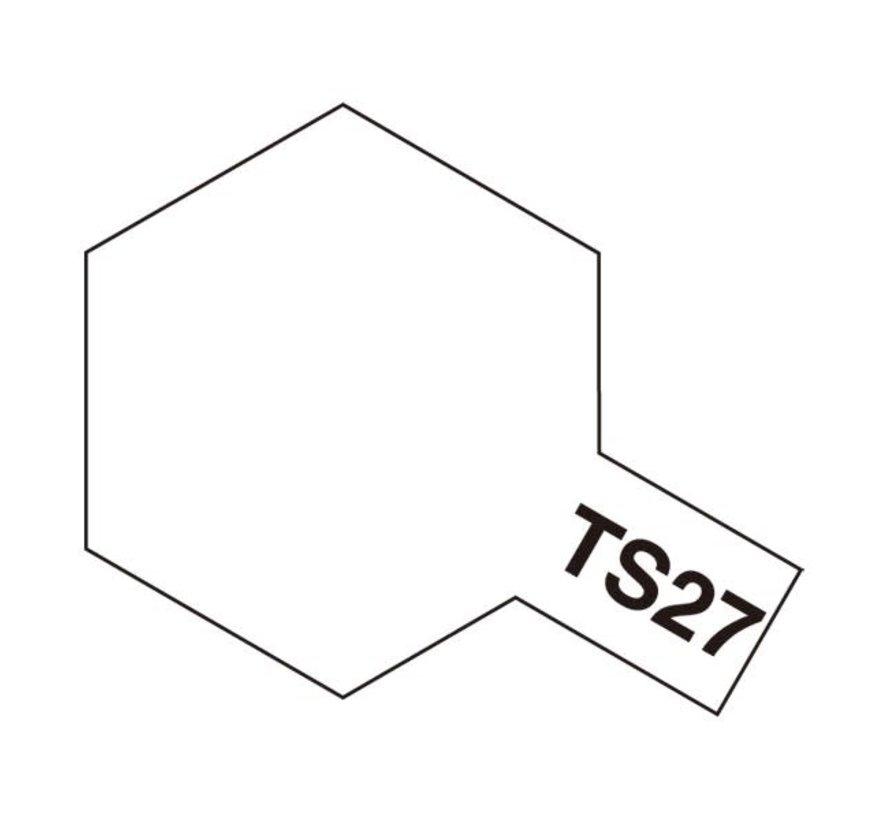 Tamiya : TS-27 MATT WHITE