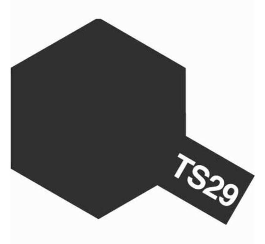 Tamiya : TS-29 SEMI-GLOSS BLACK