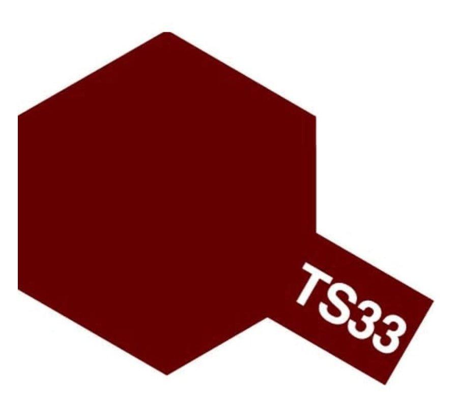 Tamiya : TS-33 DULL RED