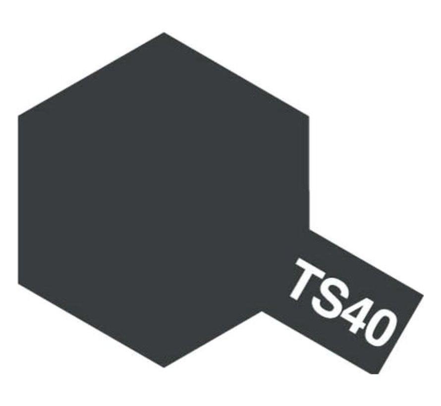 Tamiya : TS-40 METALLIC BLACK