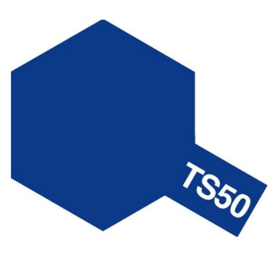 Tamiya : TS-50 BLUE MICA