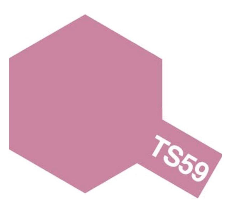 Tamiya : TS-59 PEARL LIGHT RED