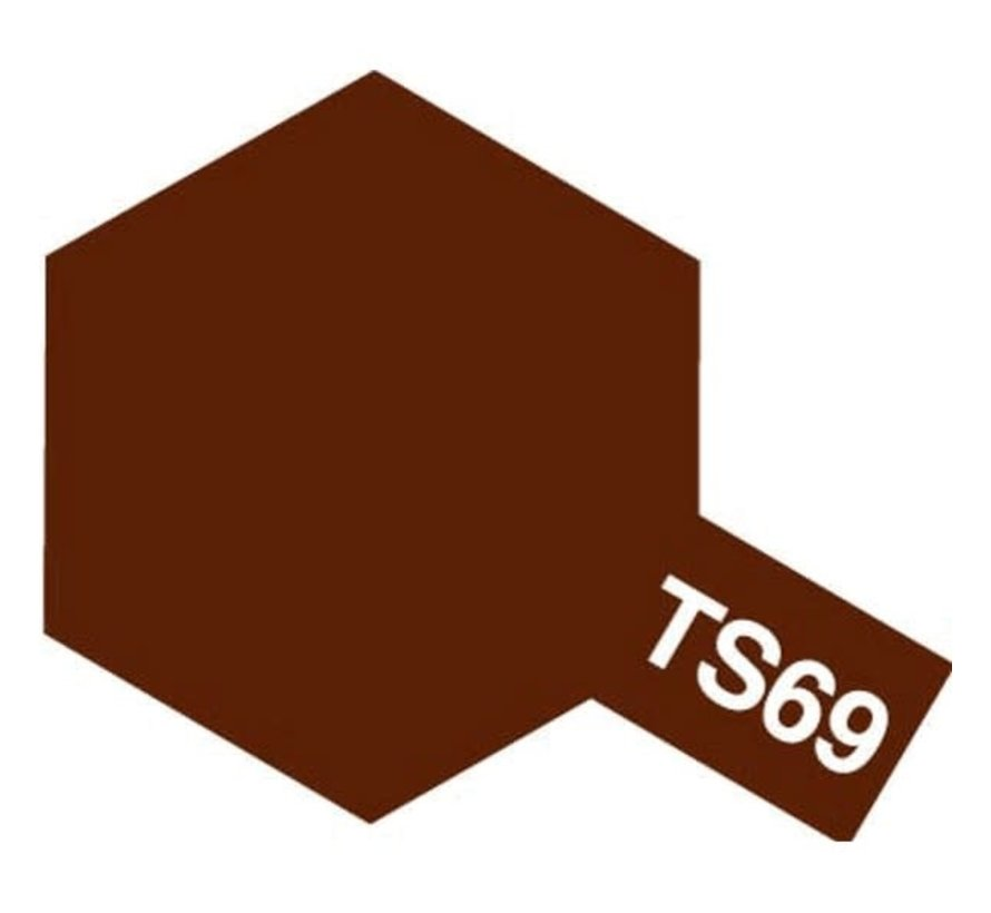 Tamiya : TS-69  LINOLEUM DECK BROWN