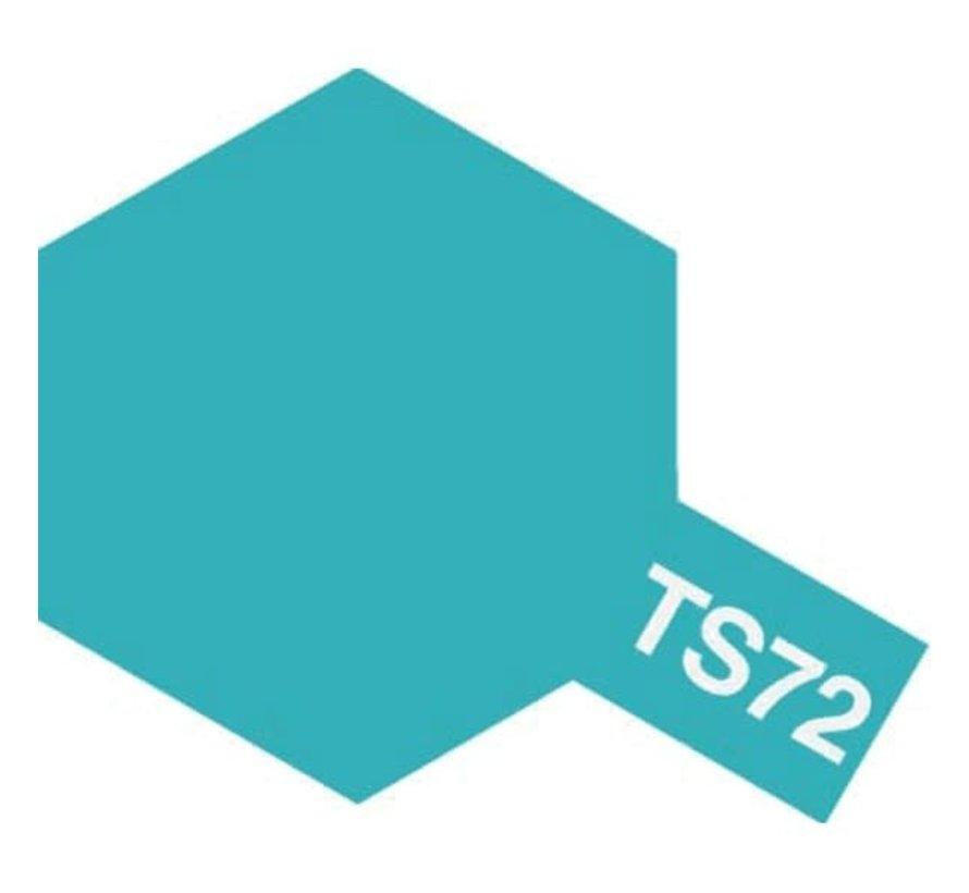 Tamiya : TS-72 CLEAR BLUE