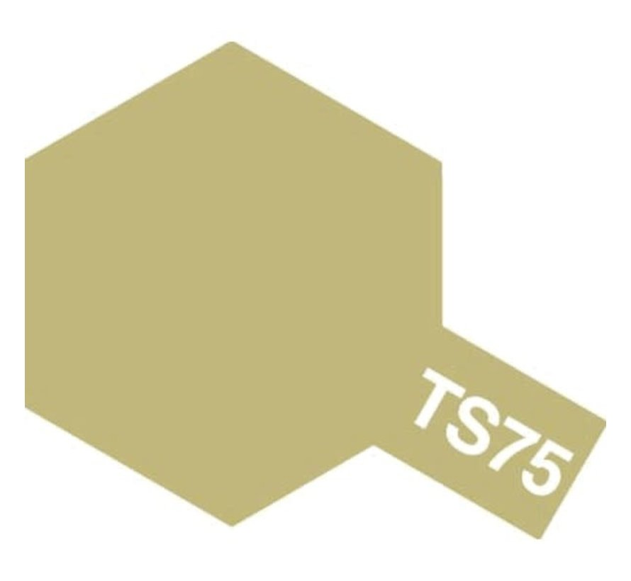Tamiya : TS-75 CHAMPAGNE GOLD