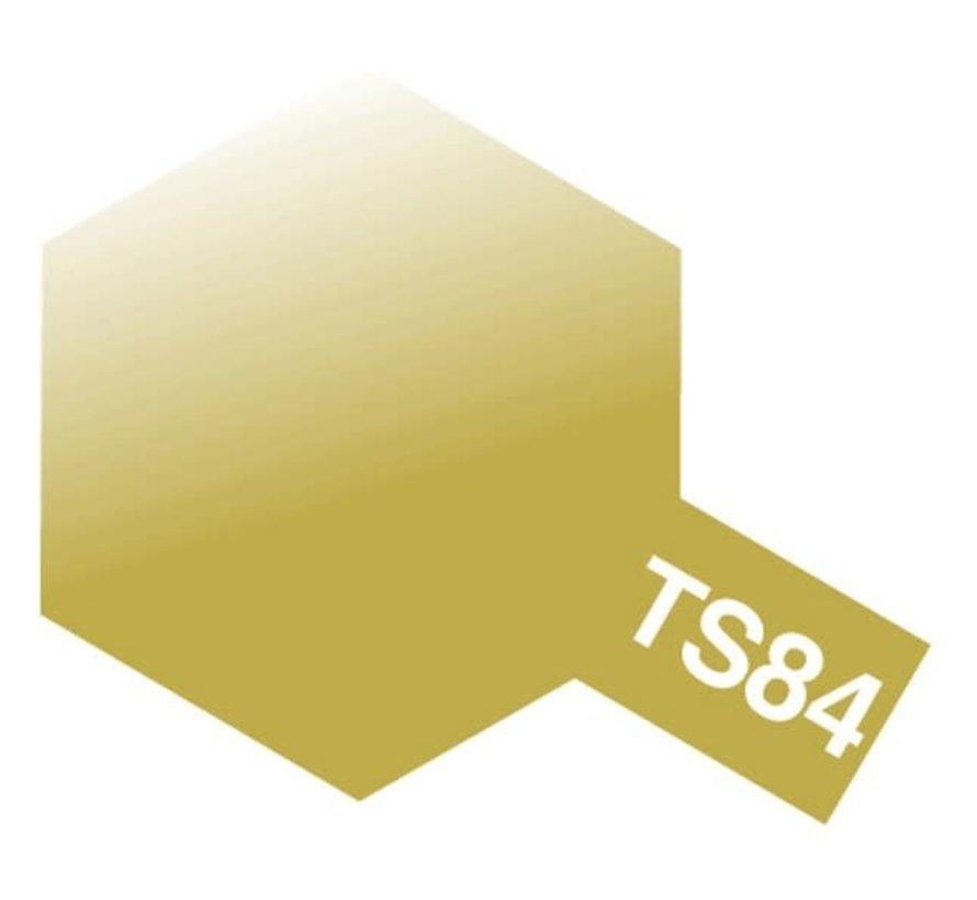 Tamiya : TS-84 METALLIC GOLD