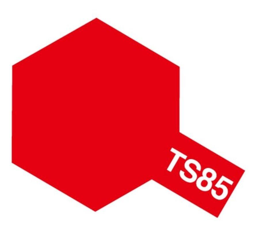 Tamiya : TS-85 BRIGHT MICA RED LACQUER