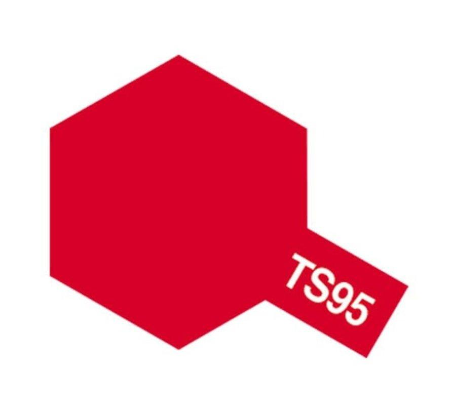 Tamiya : TS-95 PURE METALLIC RED