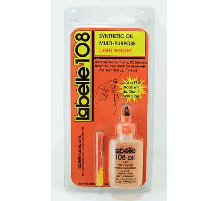 Labelle : Oil Light Plastic Comp. 108