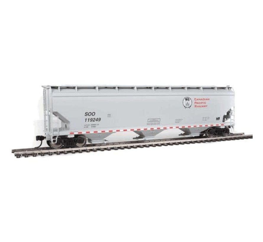 Walthers :  HO 60' NSC 5150 3-Bay Covered Hopper