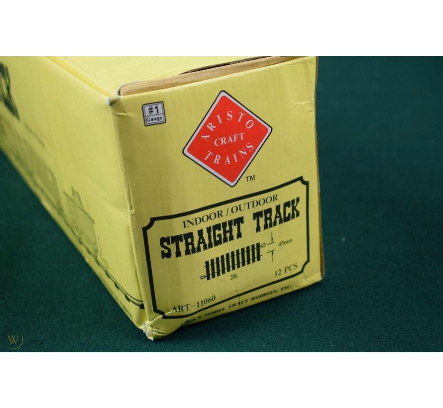 "Aristocraft : G 24"" Straight Track (box 12 pcs)"