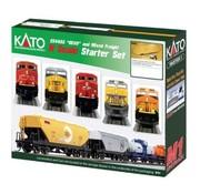 KATO KAT-106-0022 - Kato : N CP ES44AC Train SET