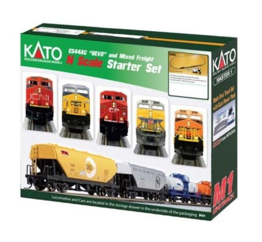Kato : N CP ES44AC Train SET