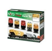 KATO KAT-106-0020 - Kato : N CN ES44AC Diesel & Freight Starter Set