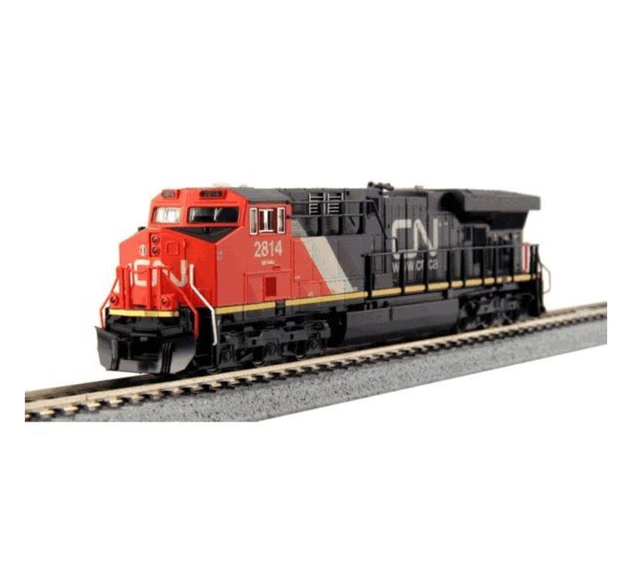 Kato : N CN ES44AC Diesel & Freight Starter Set