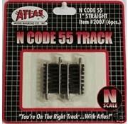 "ATLAS ATL-2007 - Atlas : N Code 55 1"" Straight (6pk)"