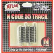 "ATLAS ATL-2006 - Atlas : N Code 55 1.25"" Straight (6pk)"