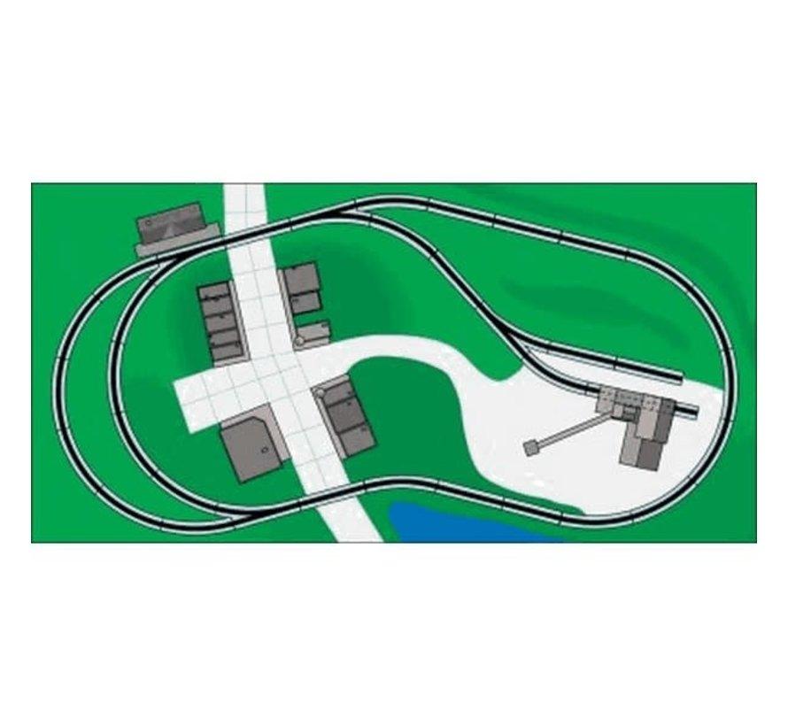 Bachmann : HO EZ Track NS WGH Track Pack