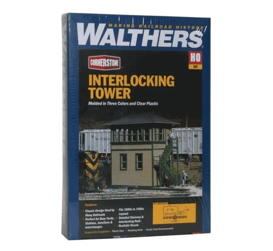 Walthers : HO Interlocking Tower Kit