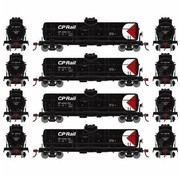 ATHEARN RND-2149 - Athearn : HO Round House CPR 1 Dome Tank 4-car set