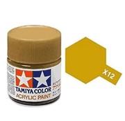 TAMIYA X-12 GOLD LEAF ACRY GLOSS