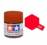 TAMIYA X-27 CLEAR RED ACRY