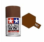 TAMIYA Tamiya : TS-1 RED BROWN