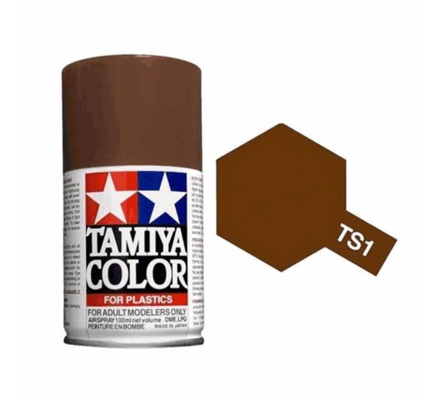 Tamiya : TS-1 RED BROWN