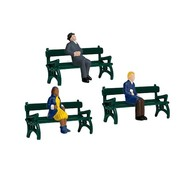 LIONEL LNL-1930190 - Lionel : O Sitting People w/Benches (6pk)