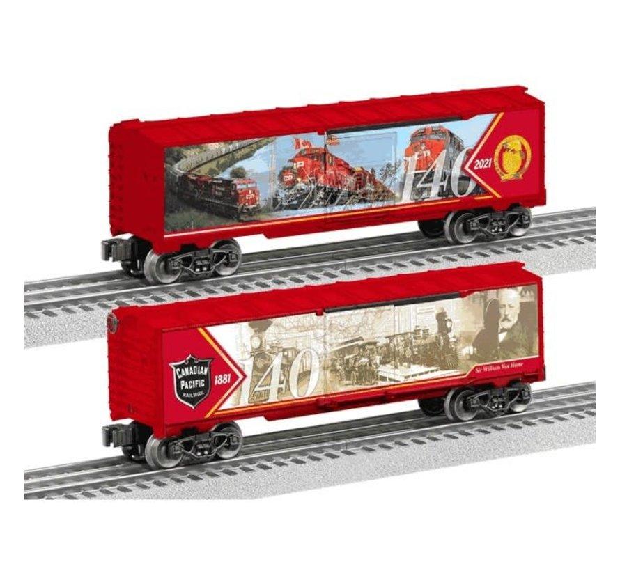 Lionel : O CP 140th Anniversary Boxcar