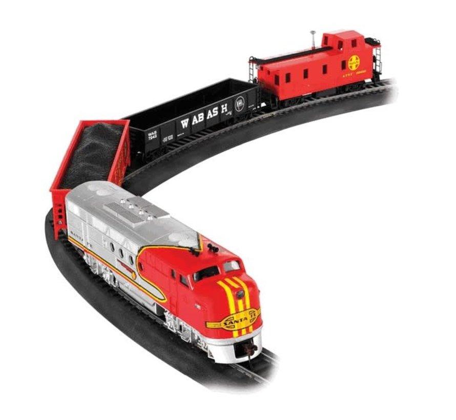Bachmann : HO Santa Fe Flyer Trains SET