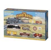 BACHMANN BAC-24014 - Bachmann : N Santa Fe Yard Boss Steam Freight Set