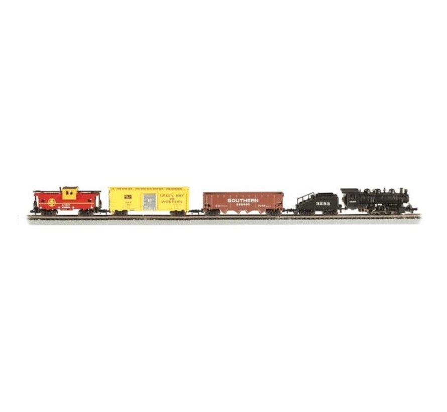 Bachmann : N Santa Fe Yard Boss Steam Freight Set