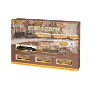 BACHMANN BAC-24020 - Bachamnn : N Durango & Siverton Steam Passenger Set