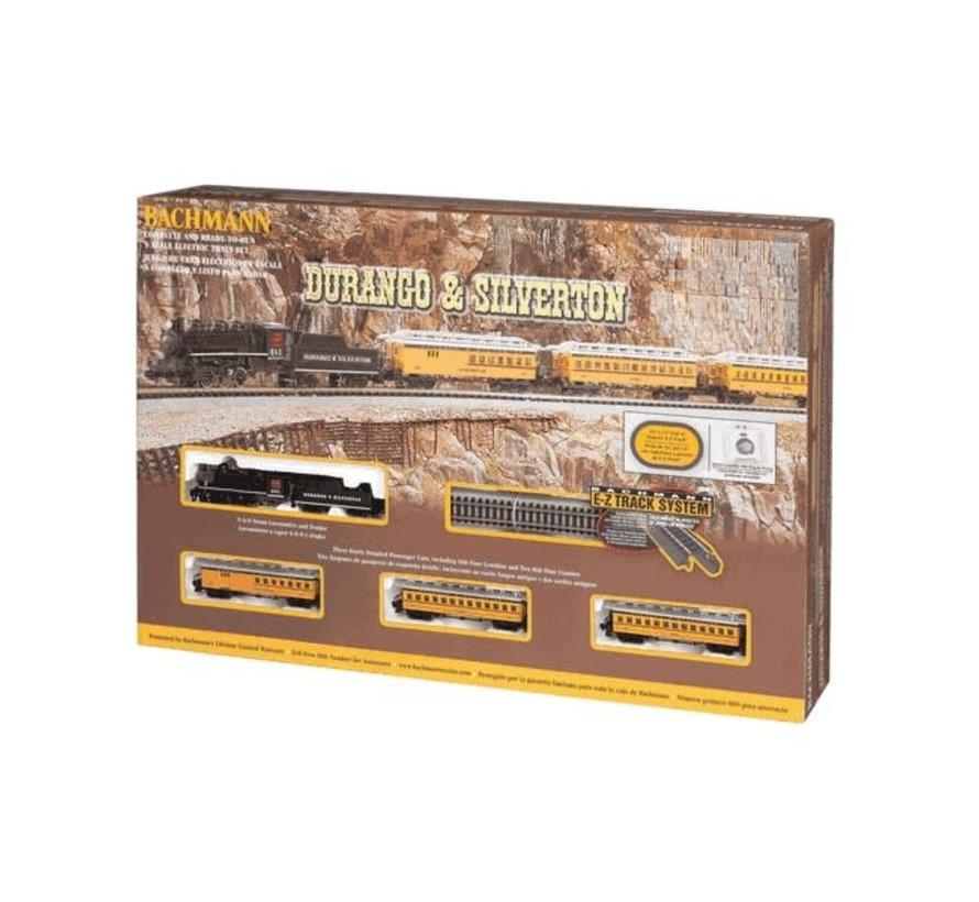 Bachamnn : N Durango & Siverton Steam Passenger Set