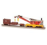 BACHMANN BAC-16104 - Bachmann : HO 250t Crane & Boom Car CN