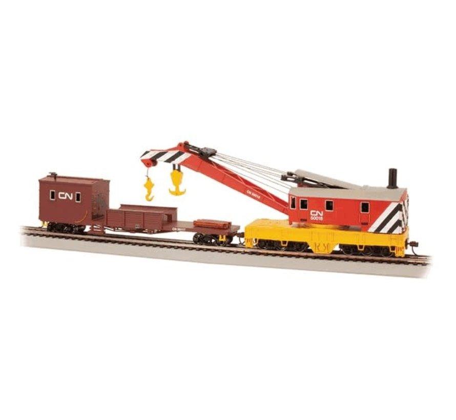 Bachmann : HO 250t Crane & Boom Car CN