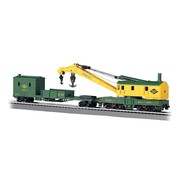 BACHMANN BAC-16110 - Bachmann : HO 250t Crane & Boom Car RDG
