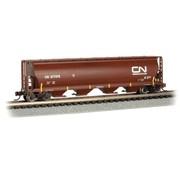 BACHMANN BAC-19161 - Bachmann : N 4-Bay Cyl.Hopper CN #377375/oxide red