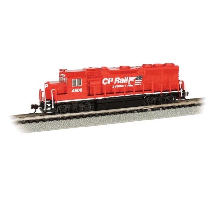 Bachmann : N GP40 Diesel CP Rail #4608/DCC Sound