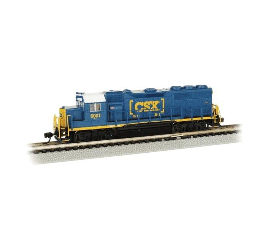 BAC-66354 - Bachmann : N GP40 Diesel CSX #6001/DCC Sound