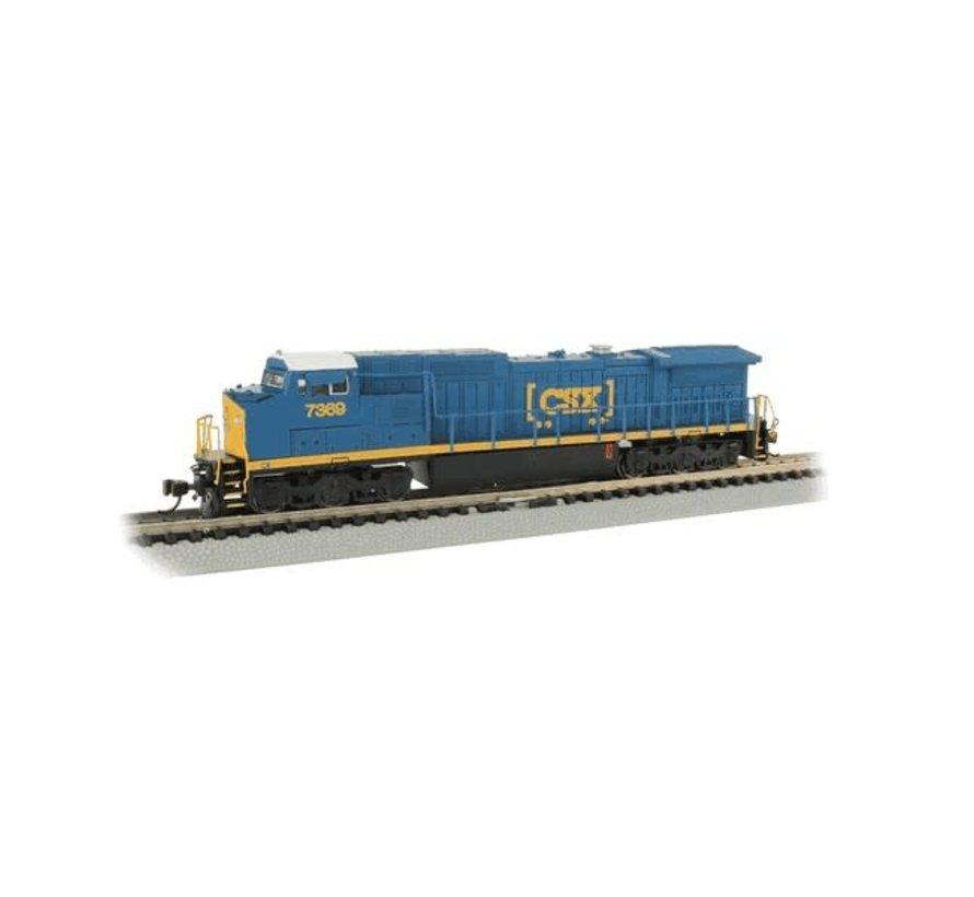 BAC-67353 - Bachmann : N C40-8W Diesel CSX #7369/DCC Sound