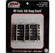 """ATLAS ATL-825 - Atlas : HO 1.5""""Straight (4 pcs)"""