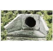 WOODLAND WDS-1262 - Woodland : HO CULVERT CONCRETE 2EA