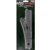 KATO KAT-2840 - Kato : HO Track Left Manual Switck R490
