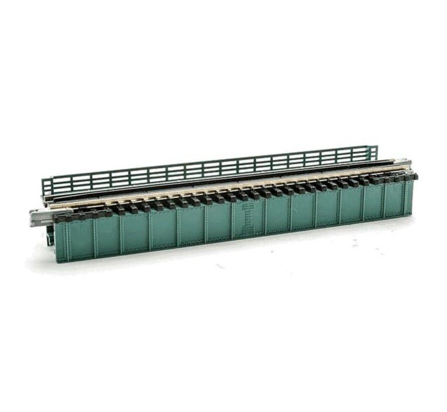 Kato : N 124 mm Plate Girder Bridge (green)