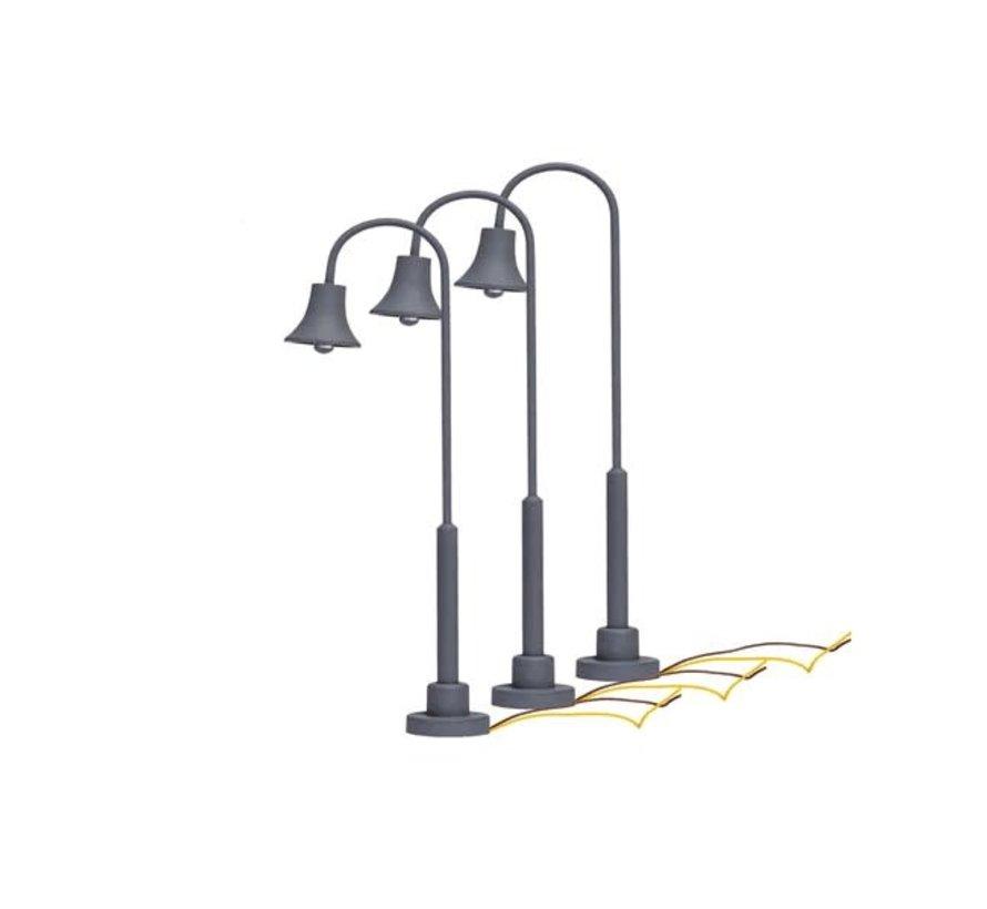 Lionel : HO Gooseneck Lamps 3-pcs