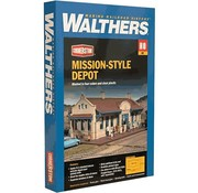 WALTHERS WALT-933-2920 - Walthers : HO Mission-Style Depot Kit