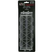 KATO KAT-20437 - Kato : N Track 248 Double Truss Bridge Silver